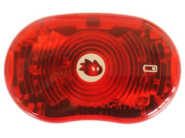 Thule Yepp Delight No2 Cykellampa röd